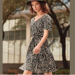 Eileen Fisher Silk Seraglio Printed Dress 1X